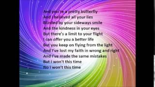 CHRISTINA PERRI Butterfly lyrics