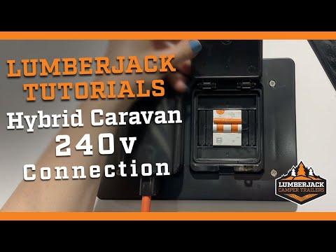 Hybrid Caravan 240v Connection
