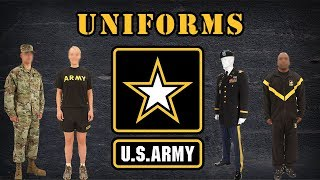 Uniforms in the US Army