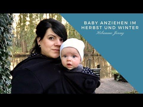 Baby anziehen im Herbst und Winter, Hebammentipps, Hebamme Jenny