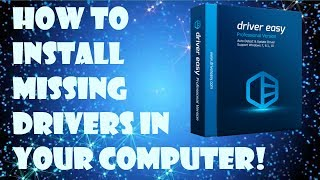 How to Install Missing Drivers in a Computer (With One Click!) | Easiest Method