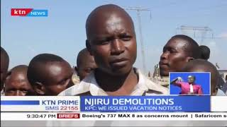 Scores rendered homeless after Njiru Choka demolition