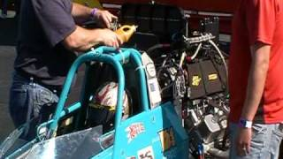 Dave Jamison Dragster Fire