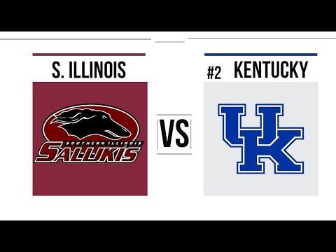 2018 College Basketball Southern Illinois vs # Kentucky Full Game Highlights