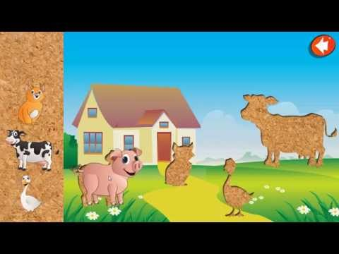 Video of Animal Puzzle for Kids - NoAds
