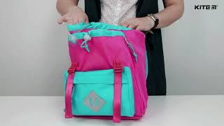 """Рюкзак детский Kite K18-543XXS-1 ( 2-4 года) от компании Интернет-магазин """"Радуга"""" - школьные рюкзаки, канцтовары, творчество - видео"""
