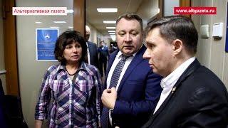 Глава района не пустил депутатов на встречу с зампредом