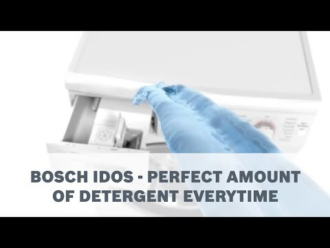 Bosch Washing Machines | iDOS Automatic Detergent Dispenser