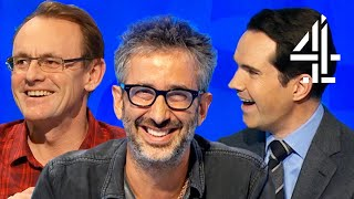 David Baddiel's FUNNIEST MOMENTS on 8 Out of 10 Cats Does Countdown!