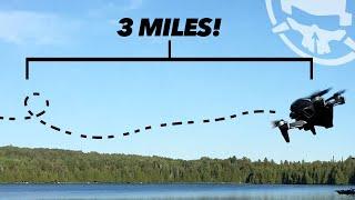 The 3 MILE Power Loop - DJI FPV Long Range Freestyle!