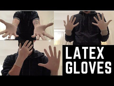 I'm Back - Latex Gloves [2 Pairs]