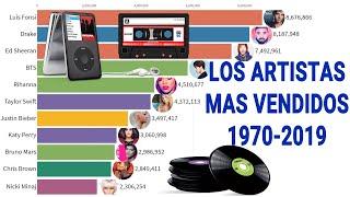 Los Artistas Con Mas Discos Vendidos 1970 - 2019