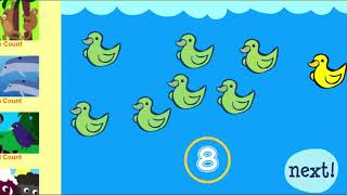 Count Animals 1 To 10 - Early Math Game - Gameplay