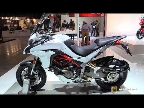 2015 Ducati Multistrada 1200S - Walkaround - 2014 EICMA Milan Motorcycle Exhibition