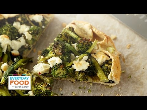 Broccolini and Feta Galette – Everyday Food with Sarah Carey