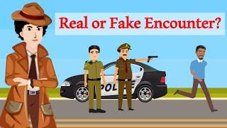 Episode 9 -  Real Or Fake Encounter | Detective Mehul | Hindi Paheliyan | Hindi Riddle
