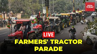 Farmers' Republic Day Tractor Rally Live News |Farmers' Tractor Parade| Farmers Protest| India Today