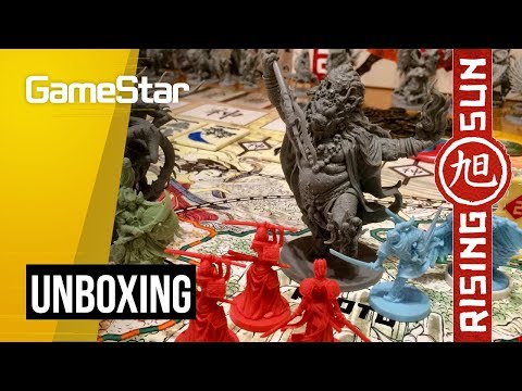 Nálunk is felkelt a Nap | Rising Sun unboxing - GameStar Hungary