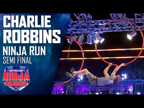 Charlie Robbins speeds through the Semi-Finals | Australian Ninja Warrior 2020