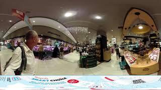 360 VIDEO VR TENERIFE:Santa Cruz - отдел продажи хамонов в El Corte Inglés