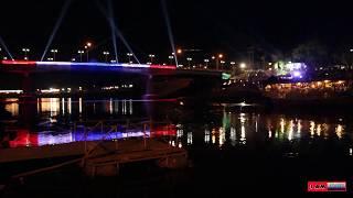 preview picture of video 'Naresuan Bridge Phitsanulok Thailand'