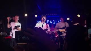 boy pablo live - losing you @ loco club (valencia) 2/april/2018