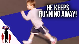 Child Constantly Runs Out On Road | Supernanny