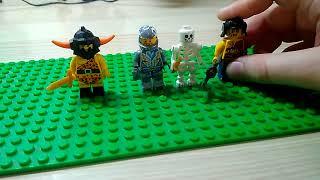 Лего фигурки по игре Clash Royale часть 2!!!!!