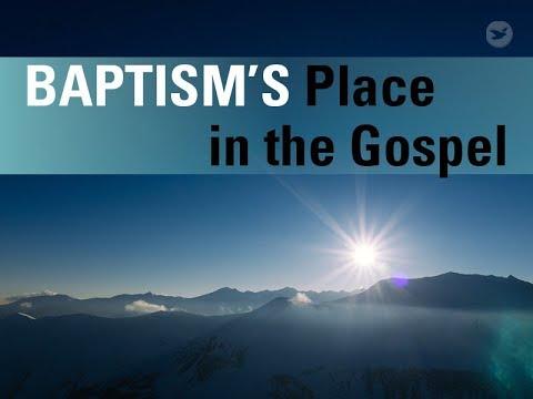 Apa hubungan baptisan air dengan Tuhan kita Yesus Kristus?