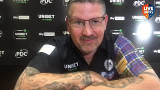 """Gary Anderson after recovery win vs Duzza: """"Peter was there for the taking, I was absolutely rotten"""""""