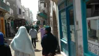 preview picture of video 'Walking through Essaouira - Morocco 1080 50p Full HD'