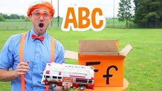Blippi Learns The Alphabet | Learning ABCs | Blippi Learning Videos | Educational Kids Videos