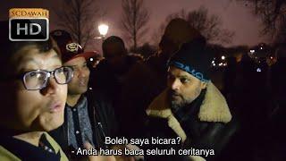 P1 - Tuhan Bersamaku! Hashim Vs Chris Christian   Bahasa   Speakers Corner   Hyde Park