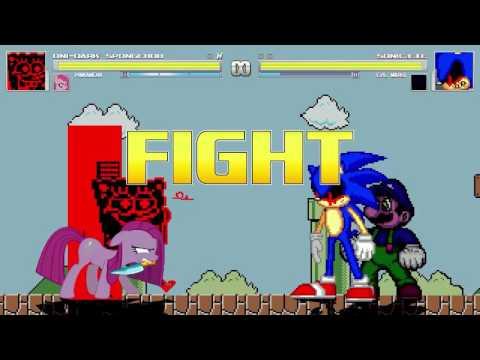 Mario vs sonic exe games | Play Mario Vs Sonic exe 2 Games