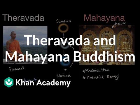 Mahayana vs theravada a multiform comparison