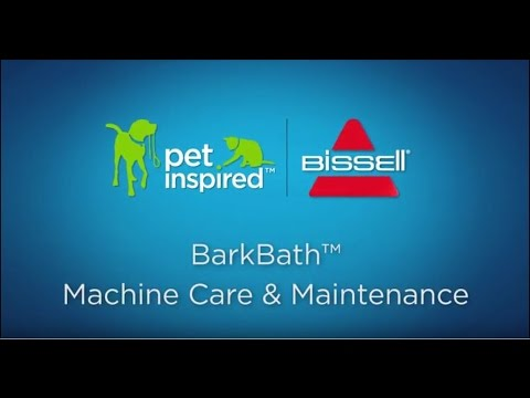 BARKBATH™ - Machine Care and Maintenance Video