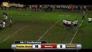 Prairie Grove (30) vs Gentry (13) 2014
