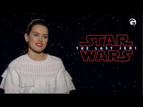Daisy Ridley and Mark Hamill Talk Jedi Training Scenes