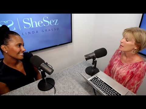 SheSez with Linda Grasso – Ep48 – LA Sparks' Christine Simmons: Running Magic Johnson's WNBA team