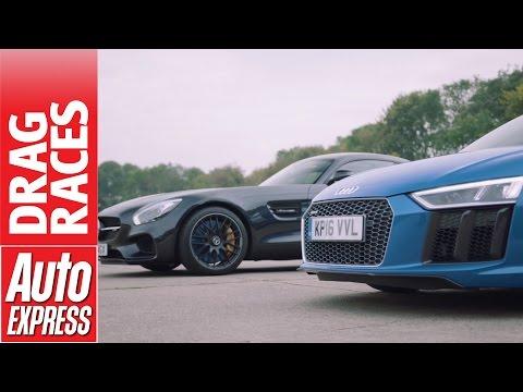 Audi R8 Coupe Купе класса A - тест-драйв 4