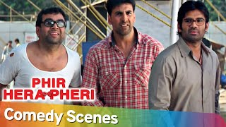 Phir Hera Pheri Comedy Scenes | Popular Comedy Scenes | Paresh Rawal - Akshay Kumar - Suniel Shetty