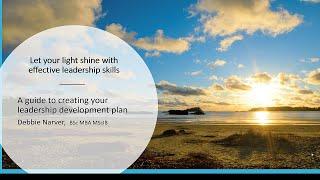 How To Create An Effective Leadership Development Plan