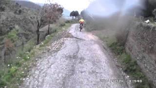 preview picture of video 'Discesa MTB , CARDETO -DONNA- REGGIO CALABRIA'