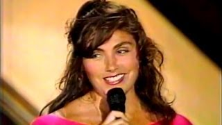 """Laura Branigan - """"Spanish Eddie"""" LIVE [cc] Cohosting Solid Gold w/Ray Parker Jr +Ghostbuster cameos"""