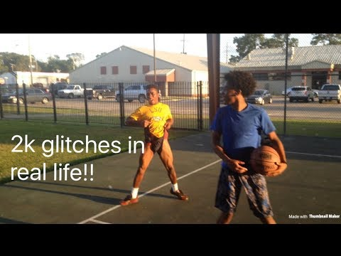 NBA 2K glitches in real life!