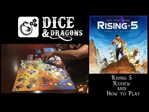 Dice and Dragons - Rising 5 Review and How to Play