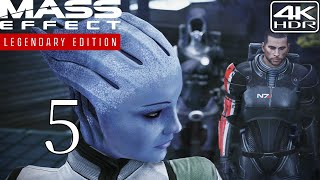 Mass Effect Legendary Edition  Walkthrough Gameplay With Mods pt5  Find Liara 4K 60FPS HDR Insanity