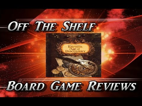Off The Shelf Board Game Reviews - Empires: Age of Discovery Part 2 - How To Play