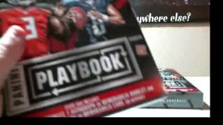 02-25-2016  2015 Panini Playbook Football 5 Box Break  MOJO AUTO! WOW!