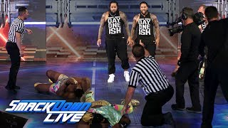 The Usos crash The New Day